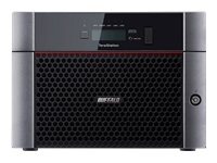 BUFFALO TeraStation 5810DN - NAS server - 8 bays - 32 TB - SATA 6Gb/s - HDD 4 TB x 8 - RAID 0, 1, 5, 6, 10, JBOD - RAM 4 GB - 10 Gigabit Ethernet - iSCSI