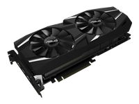 Picture of ASUS DUAL-RTX2080-O8G - OC Edition - graphics card - GF RTX 2080 - 8 GB (DUAL-RTX2080-O8G)