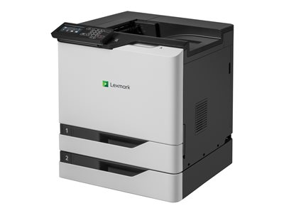 Lexmark CS820dte Printer color Duplex laser A4/Legal 1200 x 1200 dpi