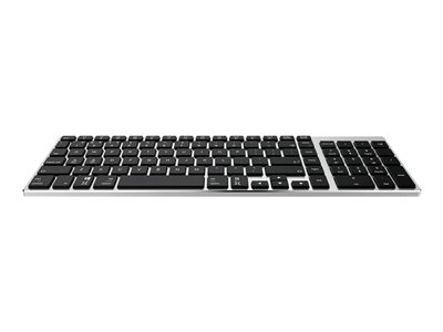 Havit Proline Bluetooth Keyboard Silver Black keys