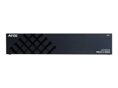 AMX Precis DSP Fixed Matrix Switcher AVS-PL-0808-00P Audio switch rack-mountable