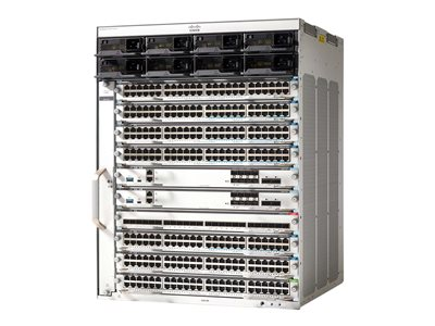 Cisco Catalyst 9400 Series chassis Switch rack-mountable PoE federal government