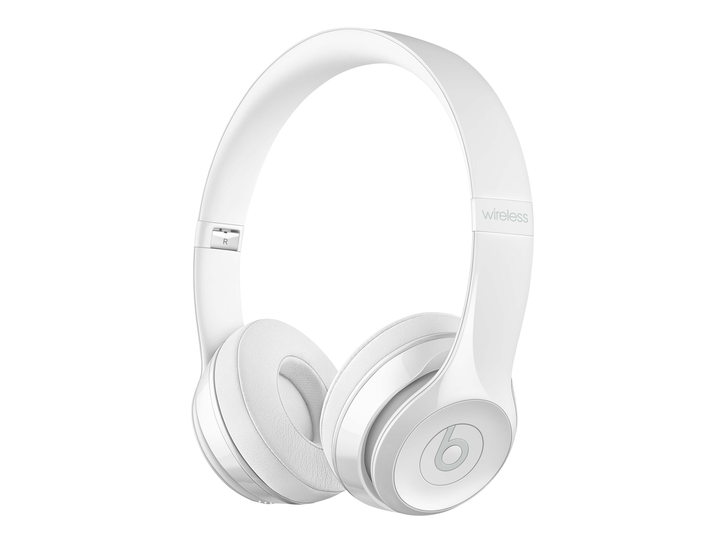 Beats Solo3 - Kopfhörer mit Mikrofon - On-Ear - Bluetooth - drahtlos - White Gloss