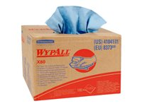 WypAll X80 Cleaning wipes HYDROKNIT 160 sheets blue for P/N: 73900