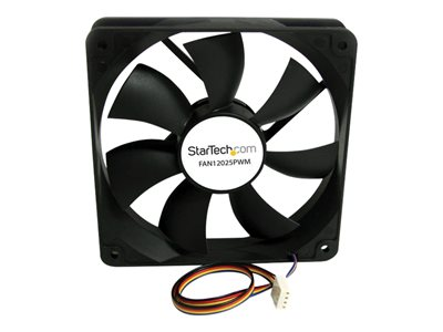 StarTech.com 120x25mm Computer Case Fan with PWM - Case fan - 120 mm - black