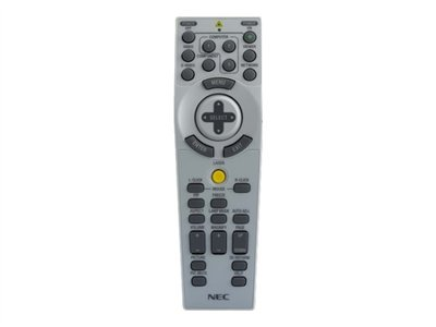 NEC Remote control for NEC NP1150, NP2150, NP3150, NP31