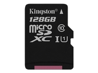 Kingston Canvas Select - Flash memory card - 128 GB - UHS-I U1 / Class10