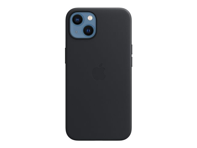 Apple - Back cover for cell phone - with MagSafe - leather
