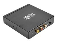 Tripp Lite HDMI to Composite Video with Audio Adapter Converter F/3xF - Video converter - HDMI - composite video - black
