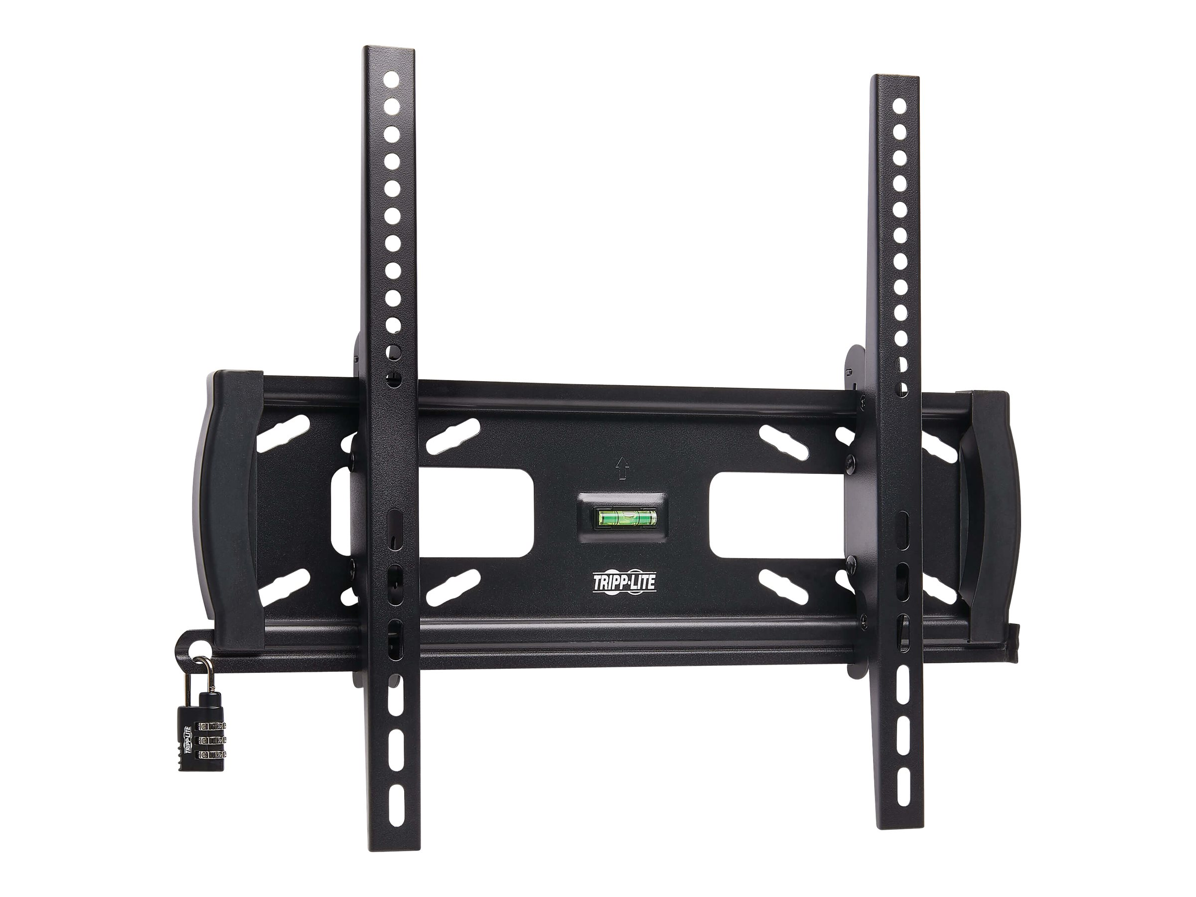 """Tripp Lite Heavy-Duty Tilt Security Display TV Wall Mount for 32"""" to 55"""" TVs and Monitors, Flat or Curved Screens - wal…"""