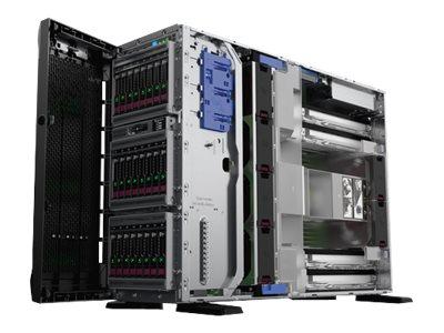 HPE ProLiant ML350 Gen10 - Server - Tower - 4U - zweiweg - 1 x Xeon Silver 4110 / 2.1 GHz