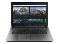 "HP ZBook 17 G5 Mobile Workstation - Core i7 8850H / 2.6 GHz - Win 10 Pro 64 bits - 32 Go RAM - 512 Go SSD (16 Go cache SSD) NVMe, TLC - 17.3"" IPS 1920 x 1080 (Full HD) - Quadro P3200 - Wi-Fi, Bluetooth - argent turbo - kbd : français"