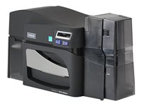 FARGO DTC4500e Plastic card printer color dye sublimation/thermal resin ,  300 dpi