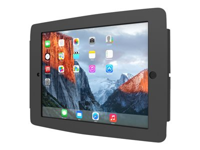 Compulocks Space iPad Mini Wall Mount Enclosure Black Wall mount for tablet aluminum black