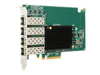 Emulex OneConnect OCE14104-NX - Netzwerkadapter - PCIe 3.0 x8 Low Profile - 10GBase-CR x 4