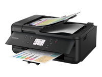 Canon PIXMA TR7550 - Imprimante multifonctions - couleur - jet d'encre - A4 (210 x 297 mm), Legal (216 x 356 mm) (original) - A4/Legal (support) - jusqu'à 15 ipm (impression) - 200 feuilles - 33.6 Kbits/s - USB 2.0, Wi-Fi(n), Bluetooth