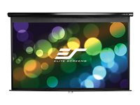 Elite Screens Manual Series M84UWH Projection screen 84INCH (83.9 in) 16:9 Matte White -