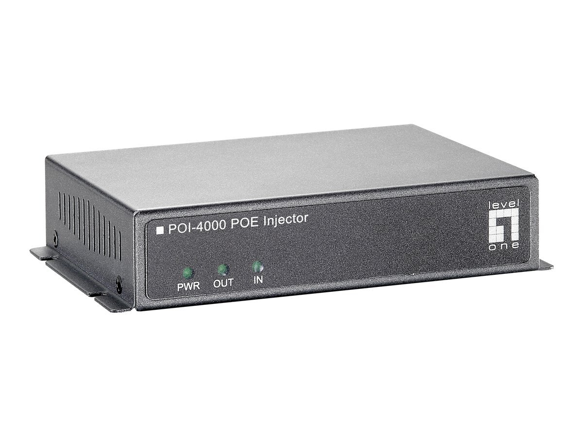 LevelOne POI-4000 - PoE injector - 40 Watt