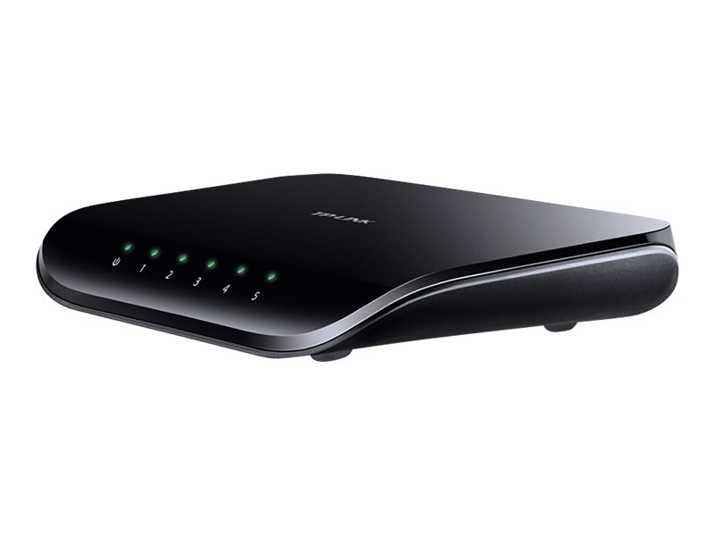 TP-LINK TL-SG1005D 5-Port Gigabit Desktop Switch - Switch - 5 x 10/100/1000 - Desktop