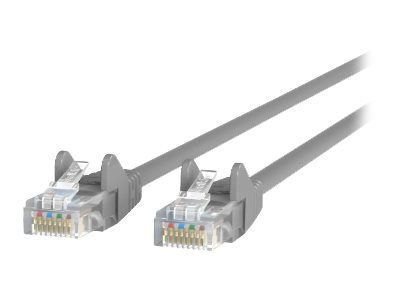 Belkin patch cable - 91.4 cm - gray