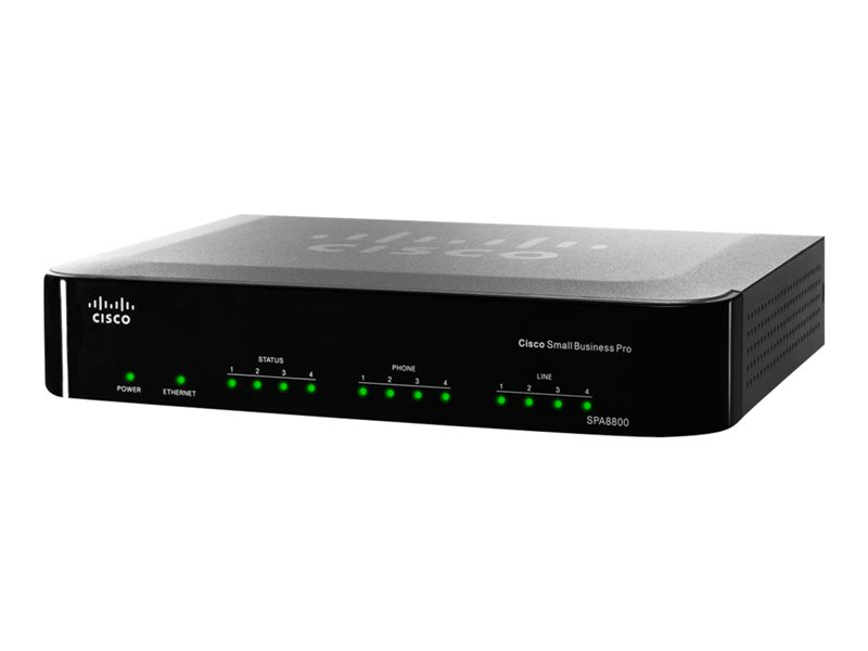 Cisco Small Business Telefon Gateway SPA8800, 4 FXS und 4 FXO Ports SPA8800 - Preisvergleich