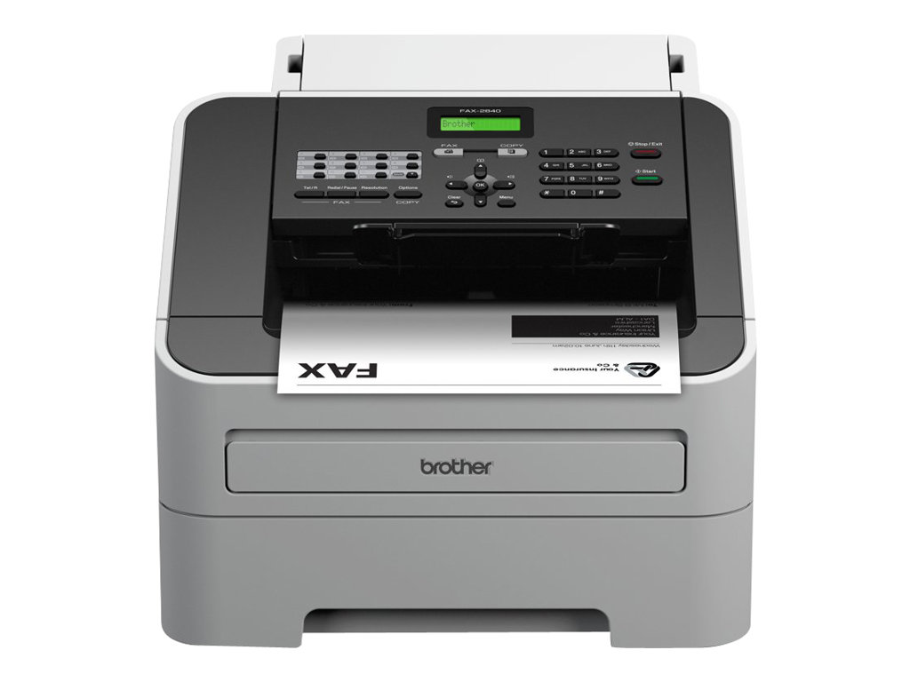 Fax BROTHER n°2840 vue avant