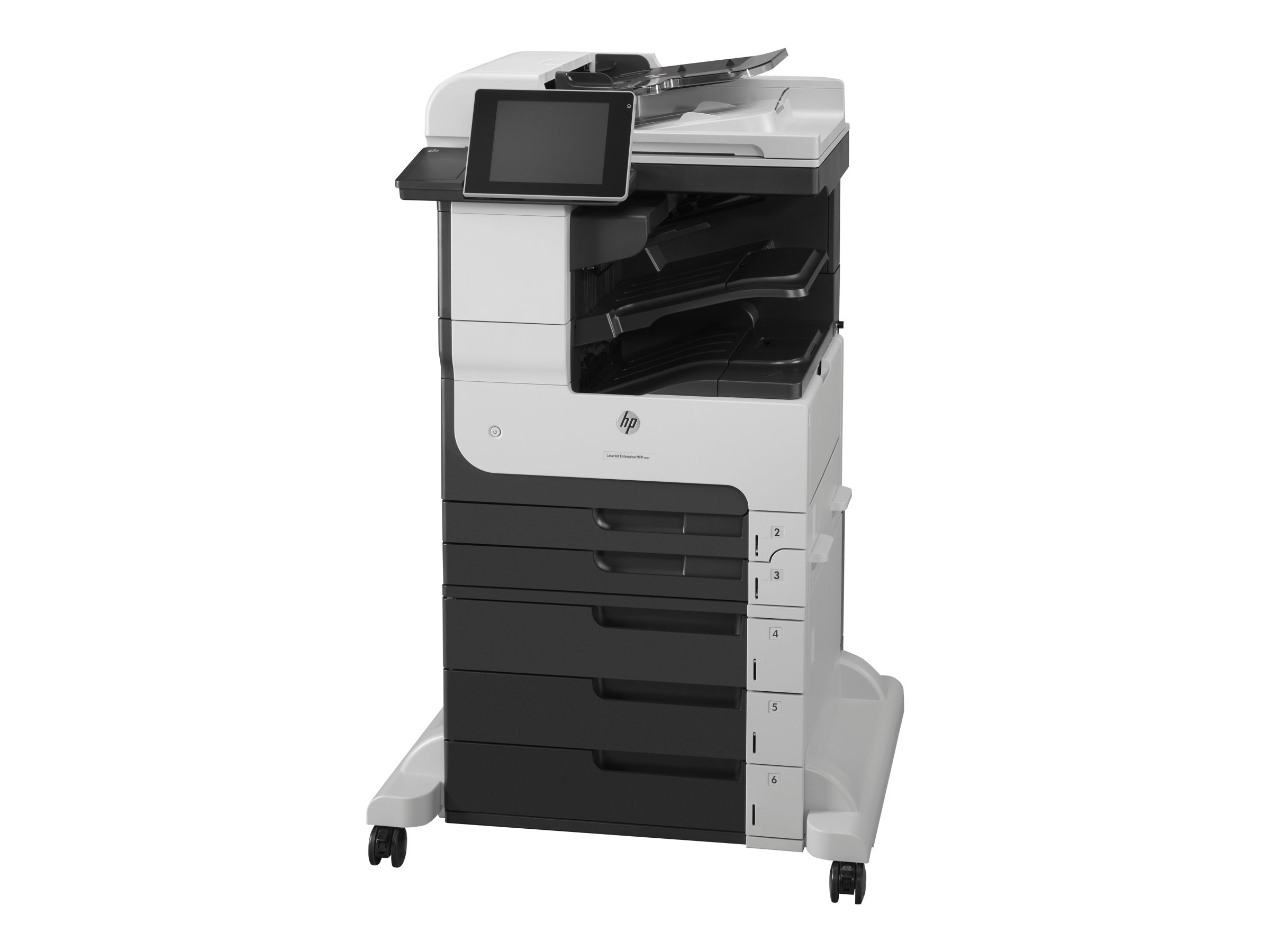 HP LaserJet Enterprise MFP M725z - Multifunktionsdrucker - s/w - Laser - A3 (297 x 420 mm) (Original) - A3/Ledger (Medien)