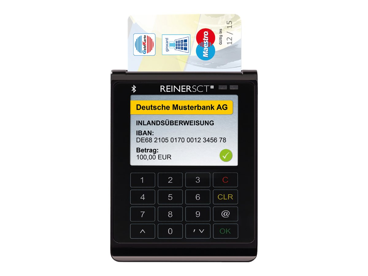 ReinerSCT cyberJack wave - SMART-Card-/NFC-/RFID-Leser - Bluetooth 4.0 LE