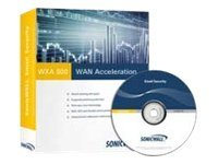 SonicWall WAN Acceleration Live CD 500 - box pack + Dynamic Support 24X7 - 20 users