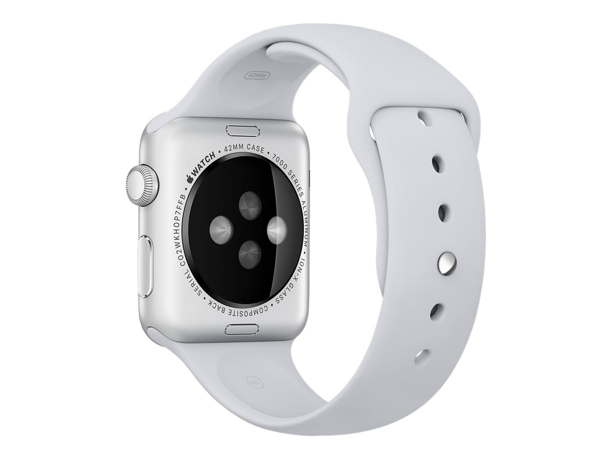 Apple 42mm Sport Band - Uhrarmband - Nebel - für Watch (42 mm)