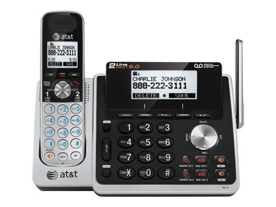 AT&T TL88102 Cordless phone answering system with caller ID/call waiting DECT 6.0