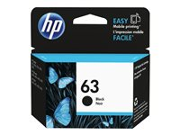 HP 63 Dye-based black original ink cartridge