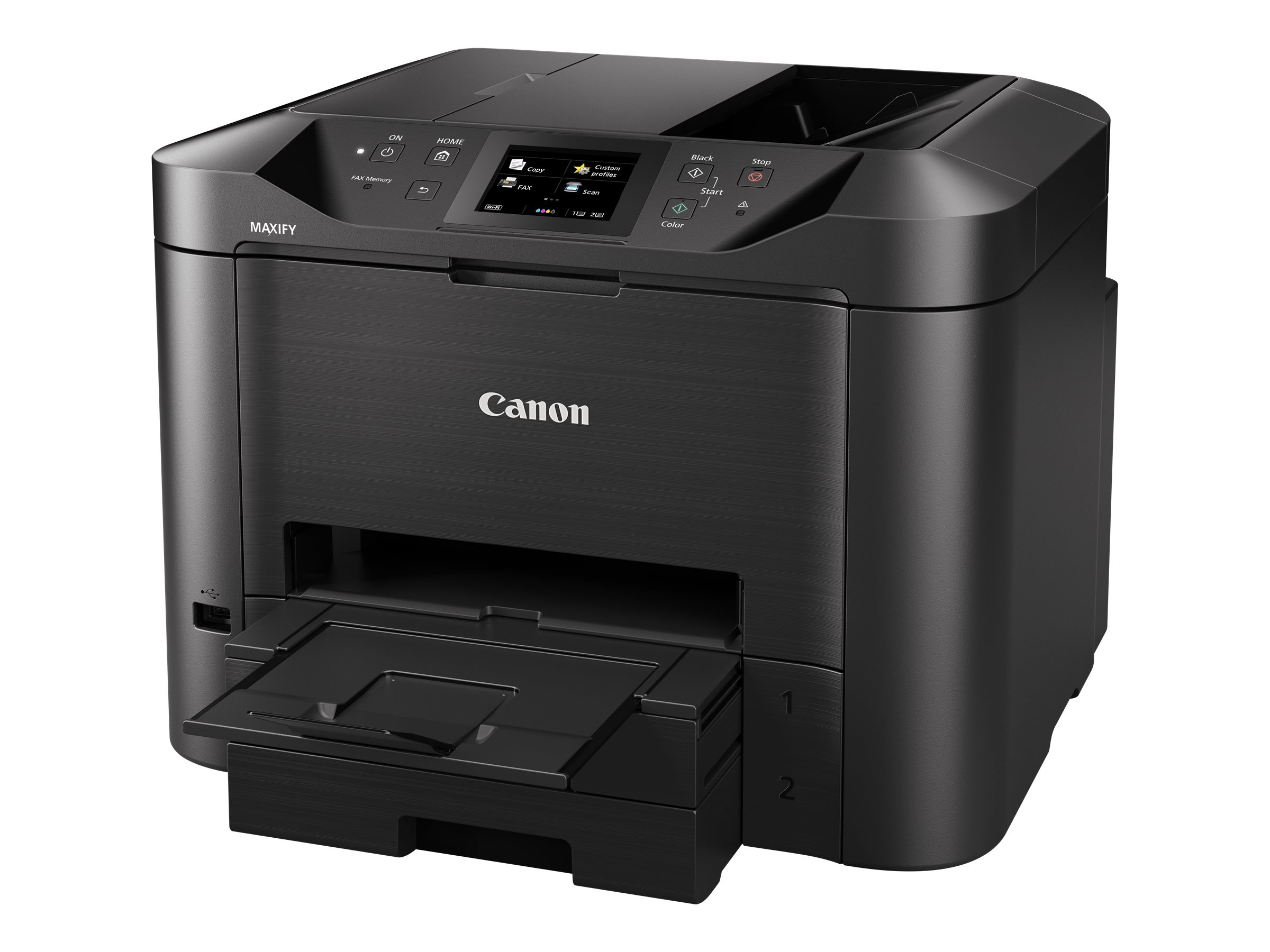Canon MAXIFY MB5455 - Multifunktionsdrucker - Farbe - Tintenstrahl - A4 (210 x 297 mm), Legal (216 x 356 mm) (Original) - A4/Legal (Medien)