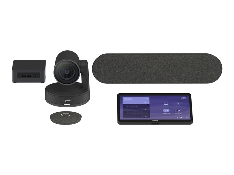 Logitech Tap for Microsoft Teams Medium Rooms - paket för videokonferens - med Intel NUC (Core i7), Logitech JumpStart (90 days)