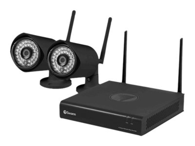 Swann GuardianEye DVR + camera(s) wireless 2 channels 1 x 500 GB 2 camera(s)