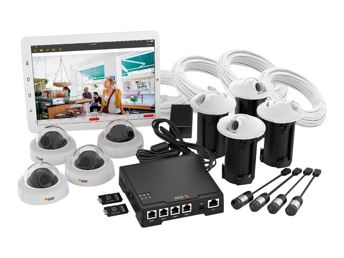 AXIS F34 Surveillance System - Video-Server