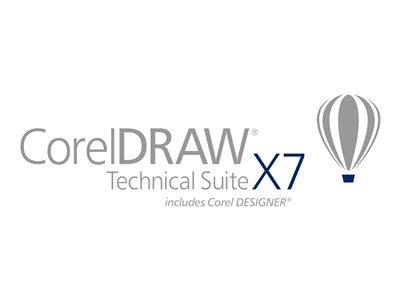 CorelDRAW Technical Suite X7 Media CTL Win English, German, French