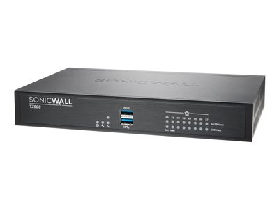 SonicWall TZ500 Security appliance with 1 year Support Service 8x5 8 ports GigE