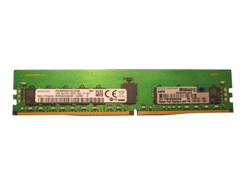 HPE SmartMemory - DDR4 - module - 16 GB - DIMM 288-pin - 2933 MHz / PC4-23400 - registered