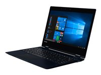 "Toshiba Portégé X20W-D-10Q - Flip design - Core i5 7200U / 2.5 GHz - Win 10 Pro 64-bit - 8 GB RAM - 256 GB SSD - 12.5"" touchscreen 1920 x 1080 (Full HD) - HD Graphics 620 - Wi-Fi, Bluetooth - onyx blue with hairline"