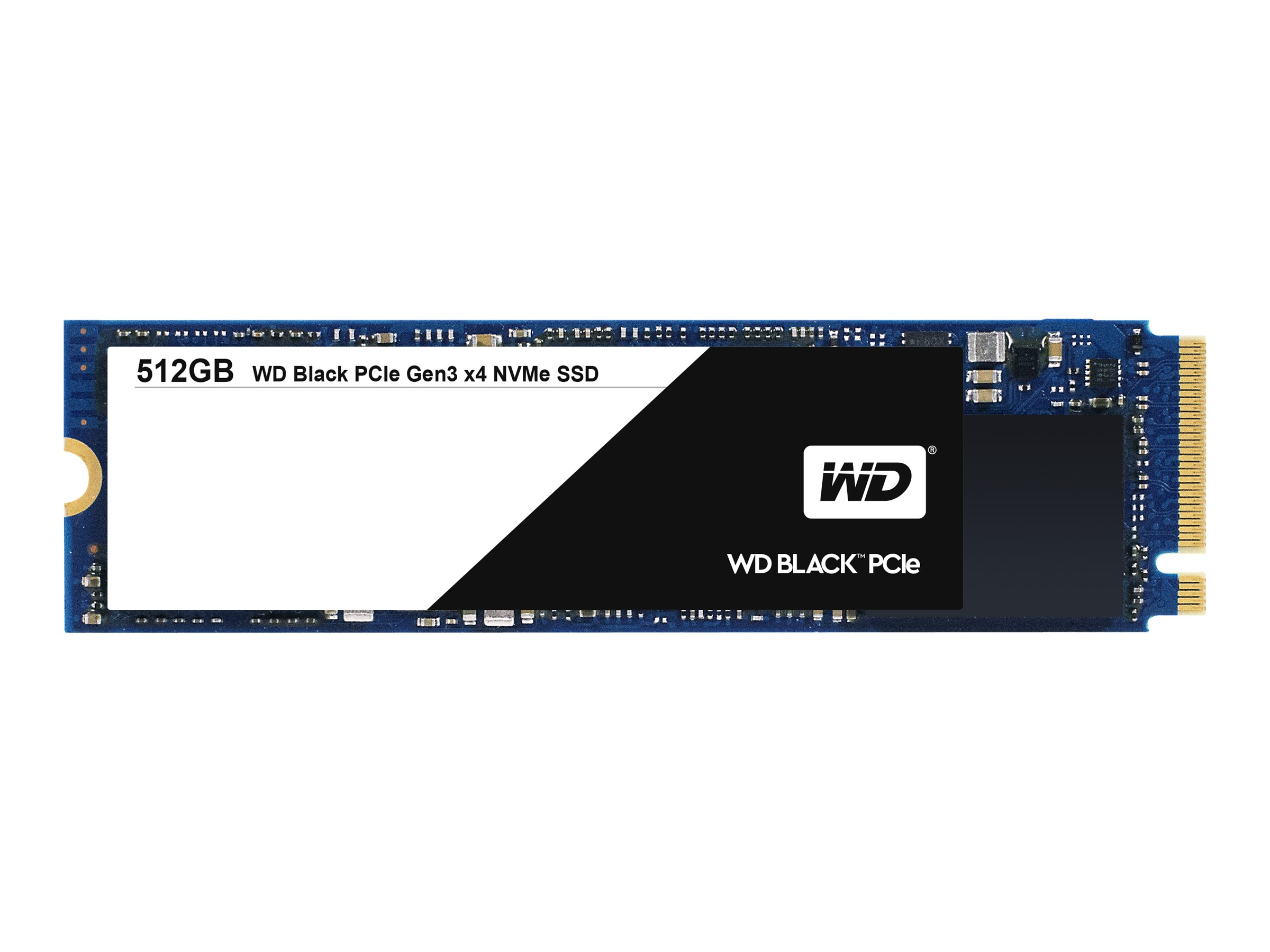WD Black PCIe WDS512G1X0C - Solid-State-Disk - 512 GB - intern - M.2 2280 - PCI Express 3.0 x4 (NVMe)