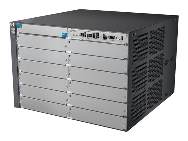 HPE Aruba 5412 zl - switch - managed - rack-mountable - with HP 5400 zl  Switch Premium License