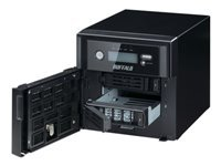 BUFFALO TeraStation 5200 WSS - NAS server - 2 bays - 8 TB - SATA 3Gb/s - HDD 4 TB x 2 - RAID 0, 1, JBOD - RAM 4 GB - Gigabit Ethernet - iSCSI - with 3 years 24-hour TeraStation VIP HDD Exchange Service