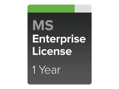 Cisco Meraki Enterprise - subscription license (1 year) + 1 Year Enterprise Support - 1 switch