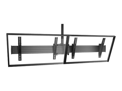 Chief Fusion LCM2x1U Mounting kit for 2 LCD displays black screen size: 40INCH-55INCH