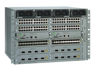 Allied Telesis SwitchBlade AT SBX3112-B01 Switch L2+ managed 8 x SFP+ rack
