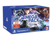 Sony PlayStation VR Mega Pack - Virtual reality headset - 5.7