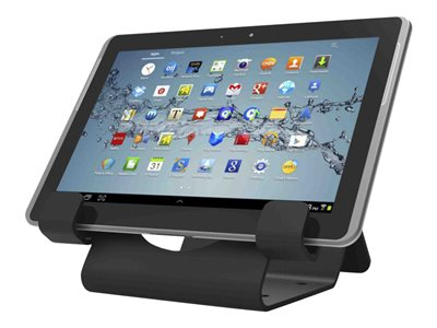 Compulocks Universal Tablet Holder with Keyed Cable Lock Secure table stand for tablet bl
