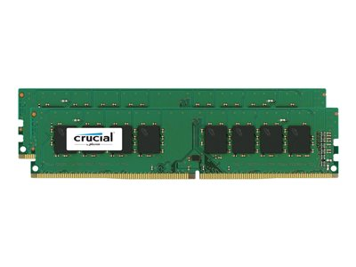 Crucial - DDR4 - kit - 32 GB: 2 x 16 GB