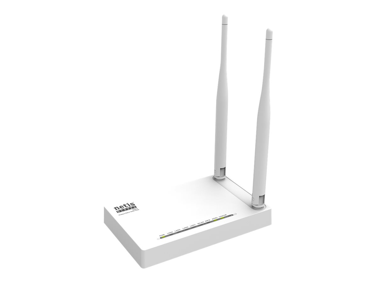 Netis DL4323 - wireless router - DSL modem - 802.11b/g/n - desktop